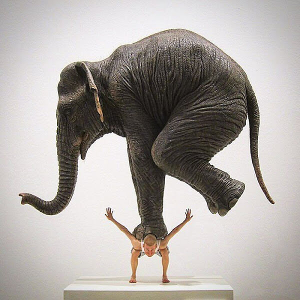 10 - 21 Artes que desafiam a gravidade e será necessário ver duas vezes para entender