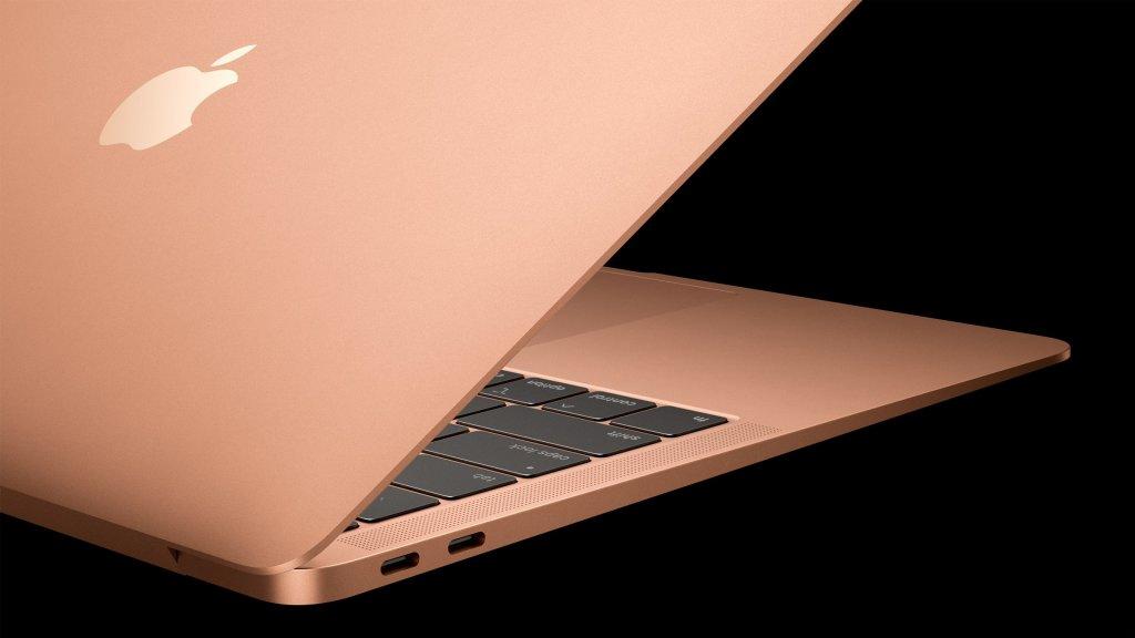macbookair3 1024x576 - Apple anuncia planos de fabricar todos os seus produtos com materiais reciclados (e vem progredindo!)