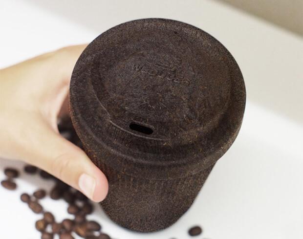 katteform - Conheça as xícaras e copos criados da reciclagem da borra de café
