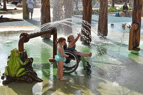Parque - O primeiro parque aquático do mundo dedicado a pessoas com deficiência
