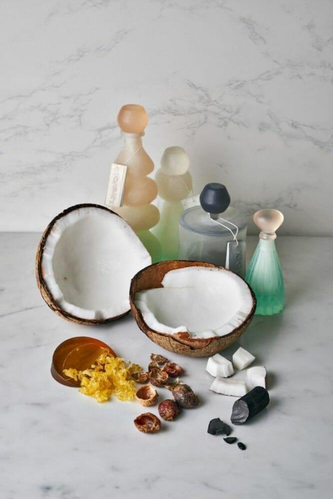 embalagens sustentáveis 4 - Embalagem de xampu feita de sabão que pode ser usado no fim do produto