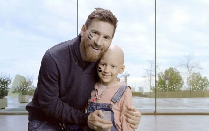 ospedale cancro messi - Maior centro de tratamento de câncer infantil da Europa está sendo contruído com auxílio de Messi