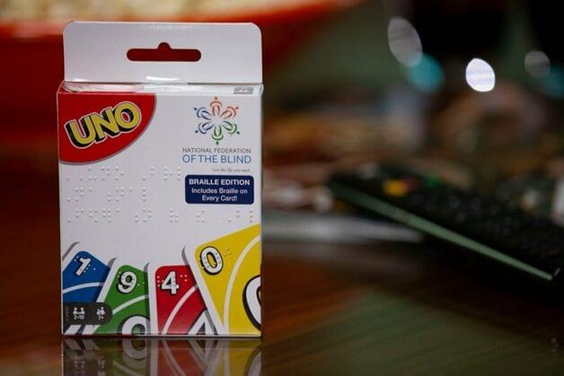 UNO Braile 4 - UNO lança versão do jogo acessível a deficientes visuais
