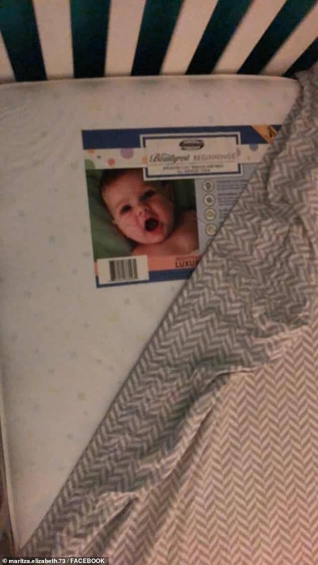 """bb2 - Mãe pensa ter visto um""""bebê fantasma"""" no berço com o filho, mas a verdade é hilária"""