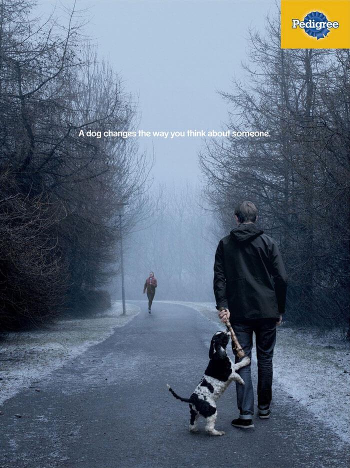 pedigree42 - Campanha publicitária mostra como um cãozinho pode transformar a vida de uma pessoa