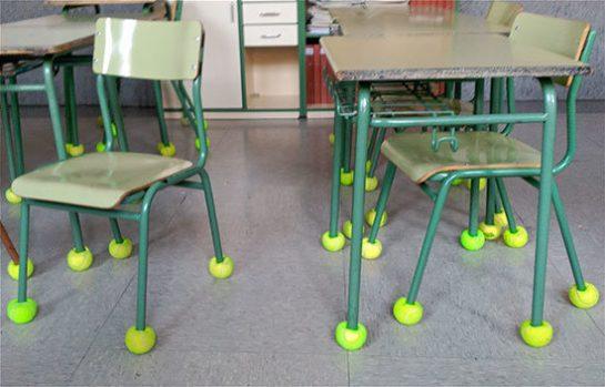 78711074 3035451273151533 2708643746815148032 n 545x349 - Escola coloca bolas de tênis em cadeiras para aliviar ruído que atordoava criança autista