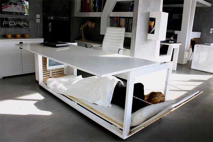 nap desk studio nl greece 8 - Nap Deske mesa de trabalho que se converte em uma cama