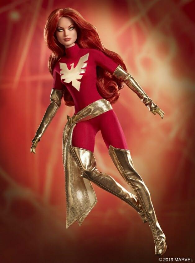 Barbie Marvel 2 - Barbie comemora 80 anos da Marvel com incrível coleção X-Men