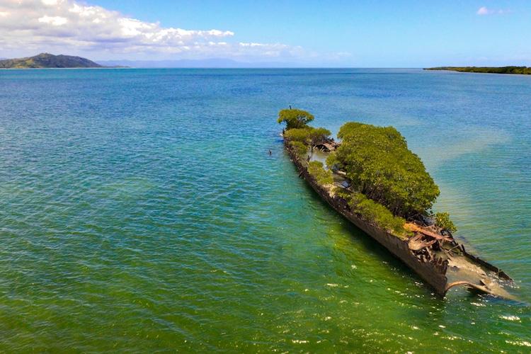 navio confiscado natureza 4 - Natureza toma conta de navio que naufragou há mais de 100 anos