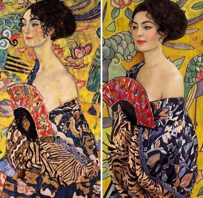 arte1 - Museu pede que recriem famosas obras de arte em suas casas e resultado é incrível
