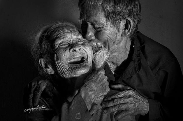 casal6 - Ensaio fotográfico eterniza momentos incrivelmente fofos de casal: juntos há 90 anos