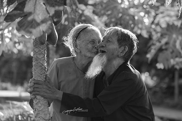 casl3 - Ensaio fotográfico eterniza momentos incrivelmente fofos de casal: juntos há 90 anos