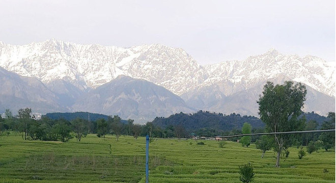 himalaias vistos da india - Com menos poluição, Índia vê o Himalaia de novo após 30 anos
