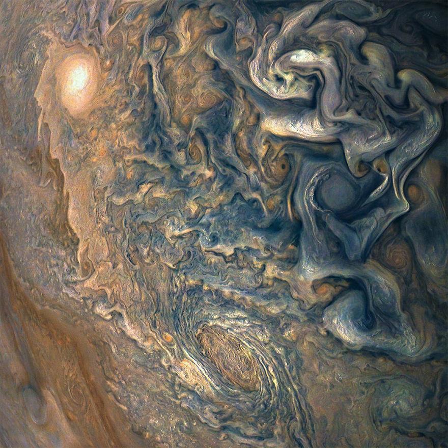 jup1 - Nasa divulga 30 fotos impressionantes em alta resolução do planeta maioral, Júpiter