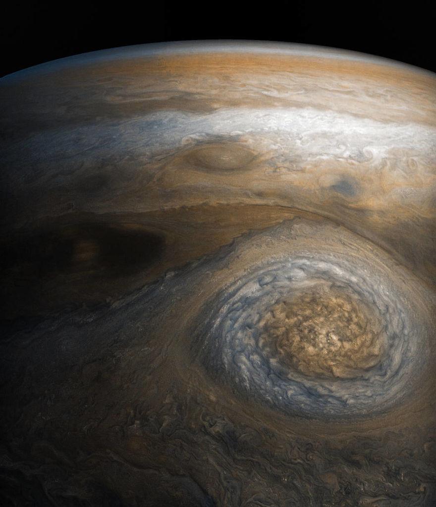 jup5 - Nasa divulga 30 fotos impressionantes em alta resolução do planeta maioral, Júpiter