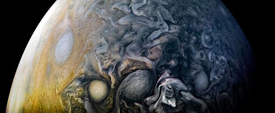 jup6 - Nasa divulga 30 fotos impressionantes em alta resolução do planeta maioral, Júpiter