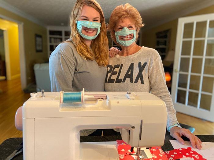 mascarasurdo2 - Estudante projeta e fabrica máscaras para surdos e deficientes auditivos