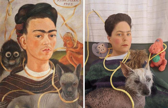 obra7 - Museu pede que recriem famosas obras de arte em suas casas e resultado é incrível