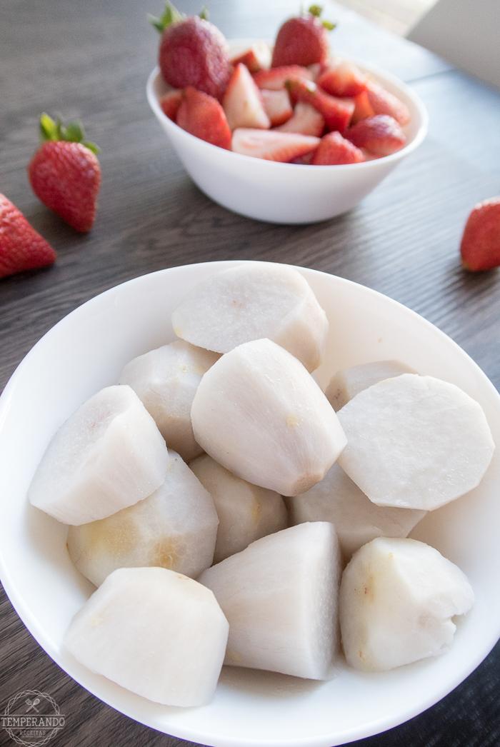 iogurte - Danoninho de inhame: receita fácil, saudável e perfeita para os pequenos