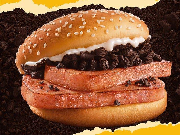 02d04c60 438c 11eb bbda 310a6d5efa9e - McDonald's vende lanche bizarro de carne de porco com 'Oreo' e maionese na China