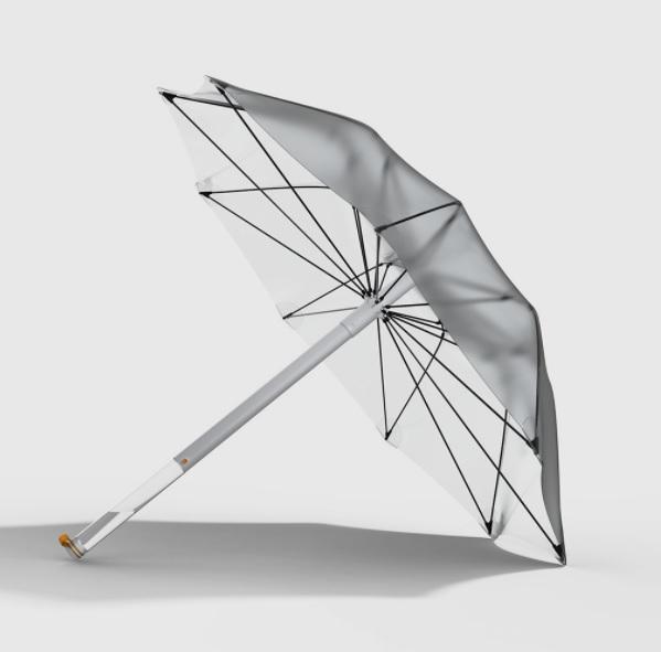 guarda chuva ciclovivo1 - Russo projeta guarda-chuva que capta e purifica água pluvial