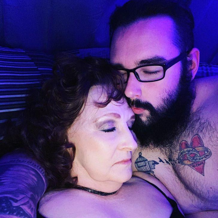amorpeculiar3 - Casal com 53 anos de diferença se curam da COVID-19: 'Amor saudável e eterno'