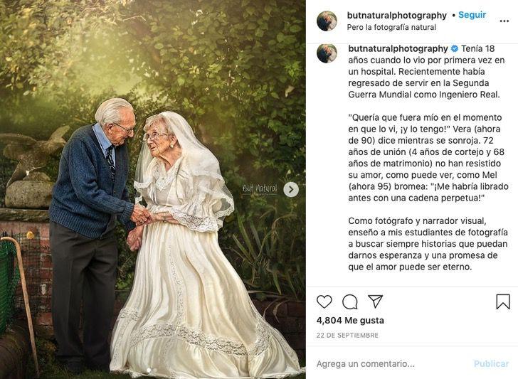 ancianos amor casados boda aniversario guerra0000 - Os anciãos emocionam a todos ao celebrar seu 70º aniversário de casamento. Quando o amor era verdadeiro e duradouro