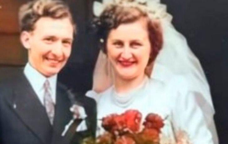 ancianos amor casados boda aniversario guerra0005 - Os anciãos emocionam a todos ao celebrar seu 70º aniversário de casamento. Quando o amor era verdadeiro e duradouro