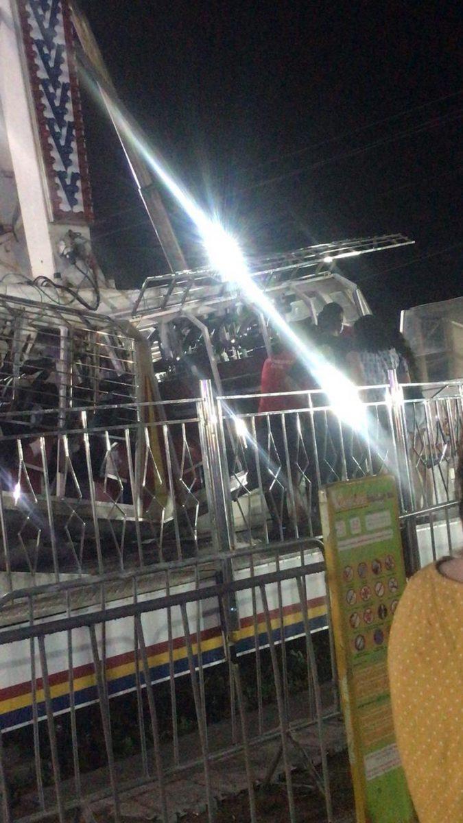 kamikaze 2 scaled - Brinquedo trava no ar e deixa pessoas de cabeça para baixo a 18 metros de altura em parque de diversões