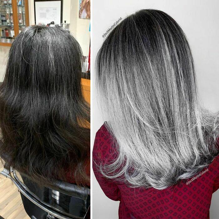 grisalha3 - Revolução grisalha: Orgulhosas, mulheres mostram seus cabelos grisalhos com muito estilo