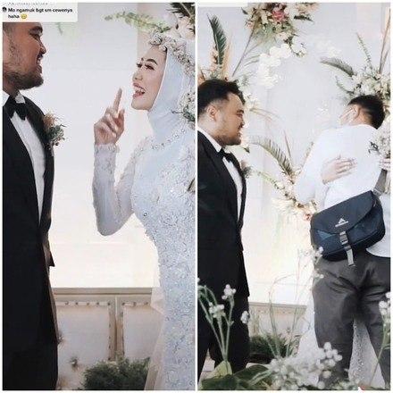 noiva surpreende noivo no altar ao pedir para abracar o ex 15022021141744436 - Mulher surpreende noivo no altar ao pedir para abraçar o ex
