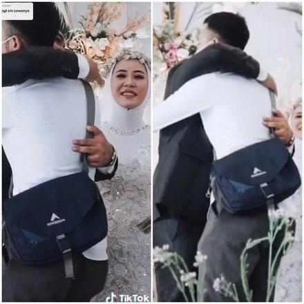 noiva surpreende noivo no altar ao pedir para abracar o ex 15022021141745039 - Mulher surpreende noivo no altar ao pedir para abraçar o ex