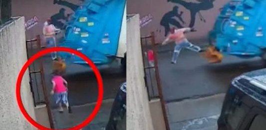 gari pula do caminhao de lixo e salva crianca de ser atropelada 696x365 1 533x261 - Inicio